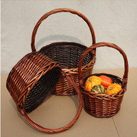Wholesale Gift Baskets Fruit Wicker/Willow Baskets