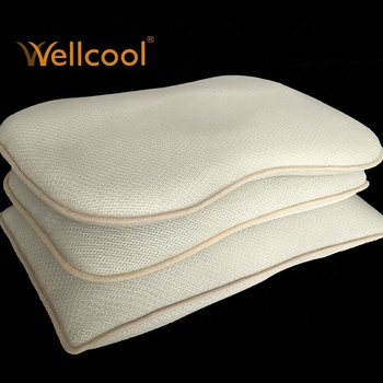 multi shape breathable 100% polyester 3d air mesh sleep pillow