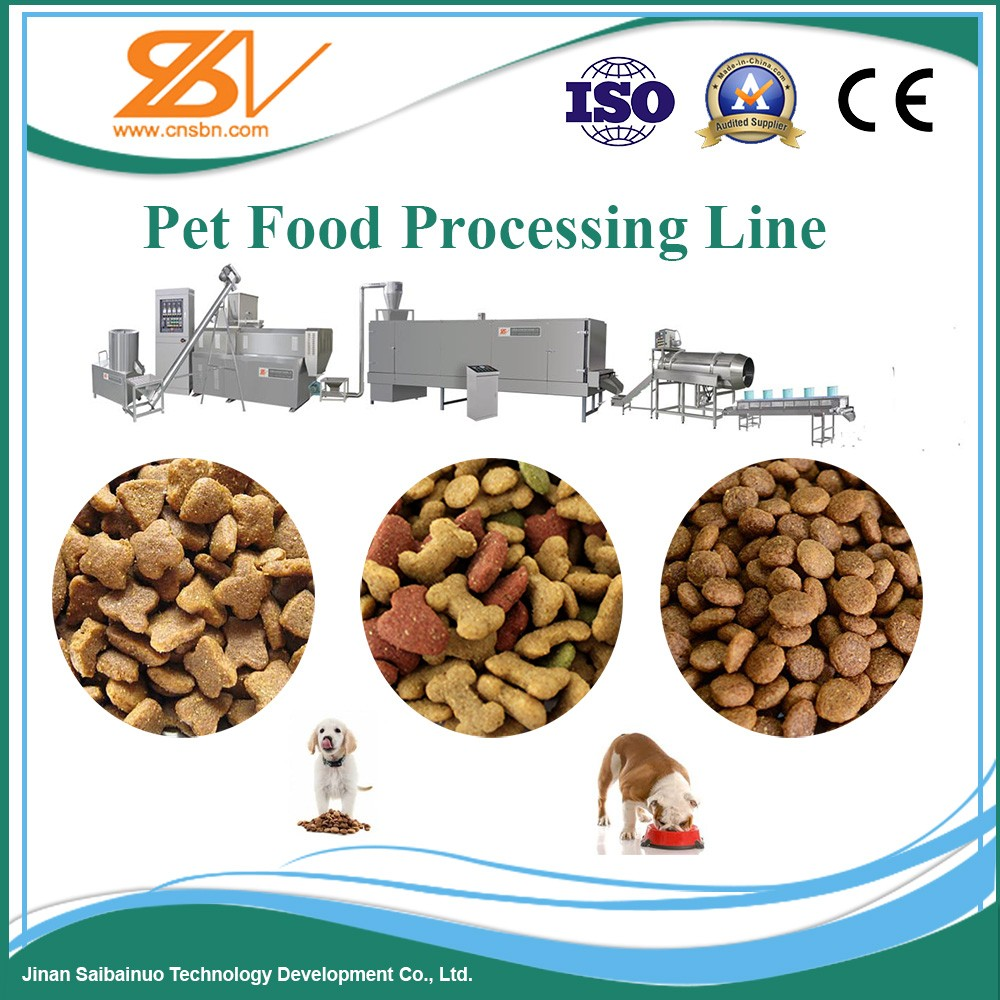 Various Capacity Automatic Dog food pellet making machine