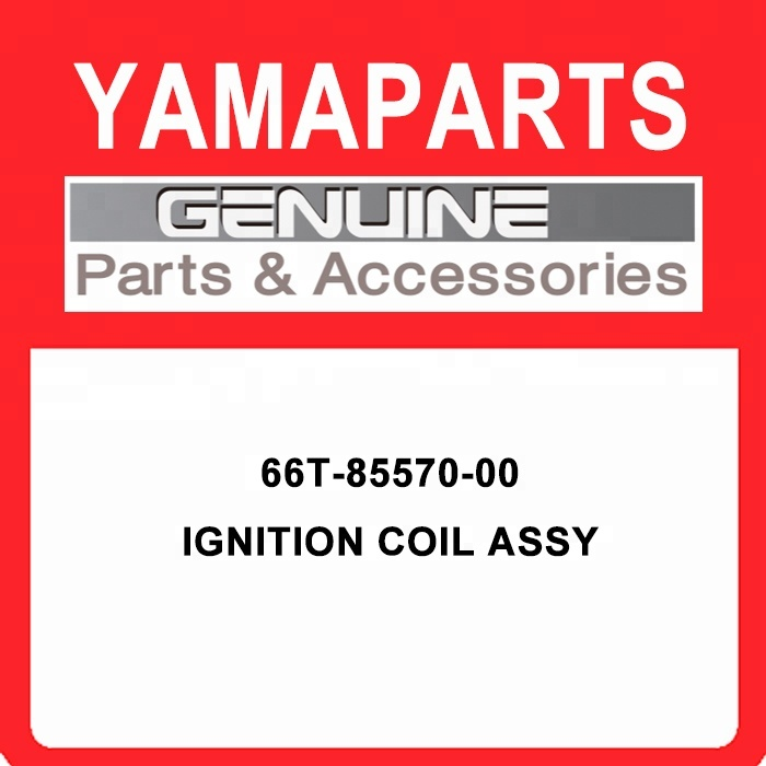66T-85570-00 Outboard <strong>Ignition</strong> Coil Assy, New OEM Part
