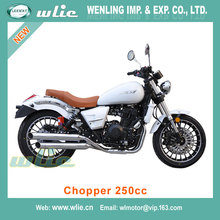 Motorcycle 250 cc motor scooter with pedals moto cafe racer Cheap Racing Motorcycle Chopper 250cc