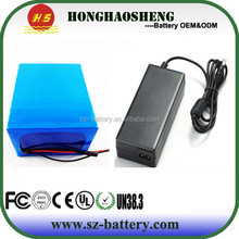 large 18650 lithium battery pack 60v 20ah li-ion battery pack 16s8p rechargeable for electric motocycle