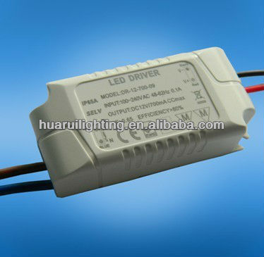 mini constant current and constant voltage dimmable electronic 350ma 9w constant current led driver for lamp