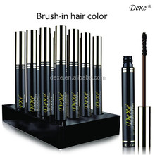 Dexe New Desigh anti-grey hair color hair make up with for colors available