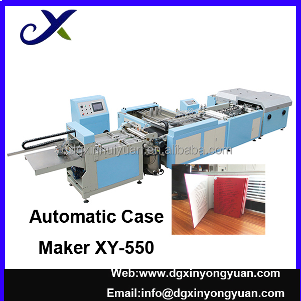 Paper File Case Making Machine XY-550