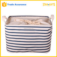 China Supplier Custom Collapsible Laundry Storage Basket For Baby Clothing