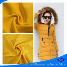 polyester fabric making for down jacket/quilted jacket fabric/polyester down jacket fabric