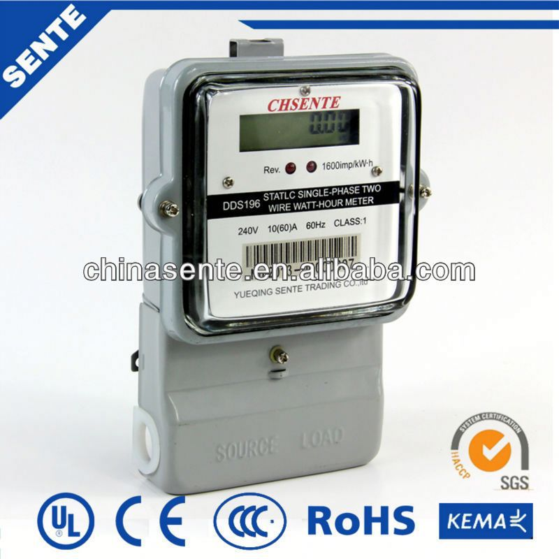 DDSY722 Type single-phase electronic electricity meter