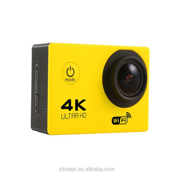 2.0 inch Ultra hd 12mp 4K Sport video camera 30m waterproof F60 4k action camera