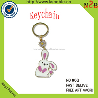 Factory price animal logo Custom metal Key Chain