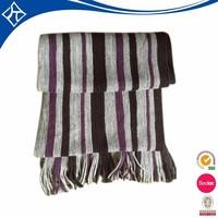 Men striped scarf crochet pattern knitting scarf