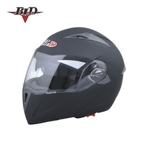 motorcycle helmet flip up helmet with double visors