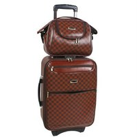 Top Pu Luggage Set Trolley Bags