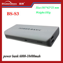 High capacity and portable automatic 7800mAh battery charger for Samsung battery cell circuit power bank dual usb