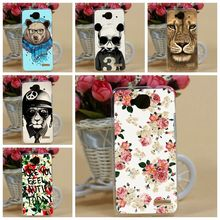High Quality 21 Patterns Painting Colored Hard PC Case Cover For Alcatel One Touch Idol mini 6012 6012X 6012A TCL S530T Cover