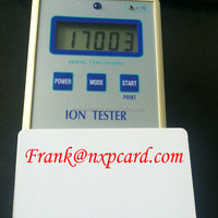Electric power energy saver card with 5000~17000 ions