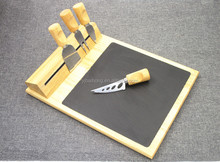 Magnetic Knife Rack wth Wooden Cheese Cutting Board