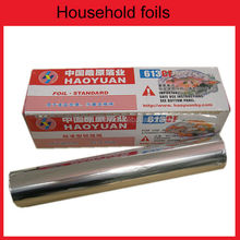 150m heavy duty household catering food packing aluminium foil roll price