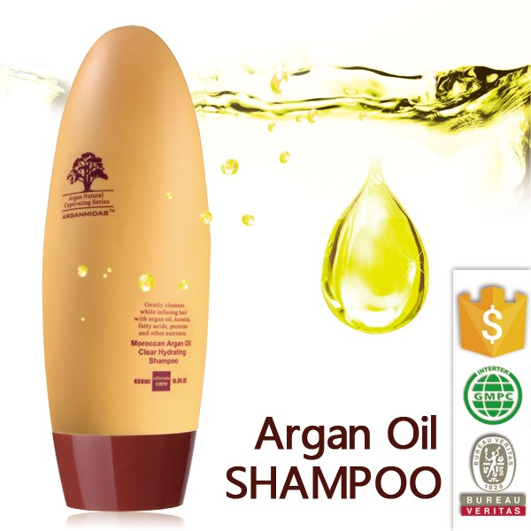 Natural hair repair treatment moroccan argan oil shampoo