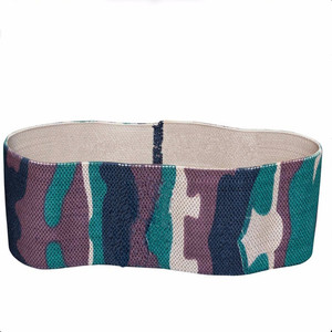 Camouflage Digital Printing High Durability Hip Circle Resistance Squat Band High Quality Stretching Bands For Gym Fitness