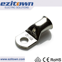 Ezitown SC cable lug Copper ring tube non insulated terminals