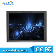 capacitive open frame lcd hmi monitor , small lcd monitor hdmi , square lcd monitor 19 inch