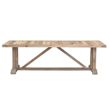Belgium design simple style reclaimed wood dining table rustic furniture