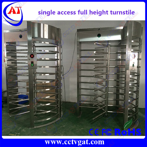 Fast pass bi-directional automatic electronic prestige turnstile security entrance gates for pedestrian access control