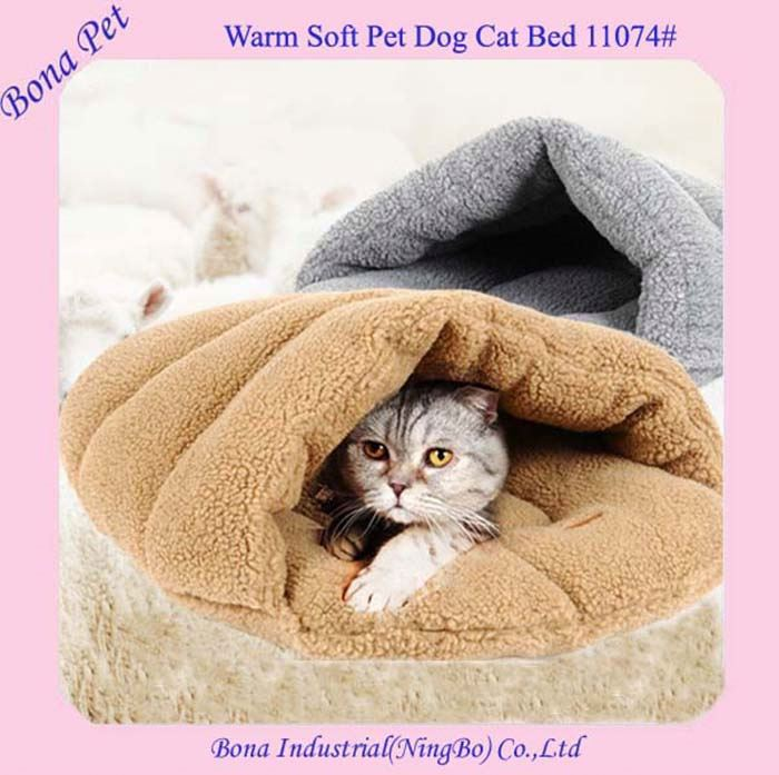Wholesale Super Warm Fleece Cat Sleeping Bags