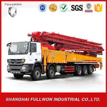 SANY mobile concrete mixer truck mounted concrete pump for sale SYG5418THB 56