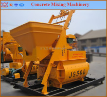 automatic control , best material & practical design of JS500 JS750 concrete mixer