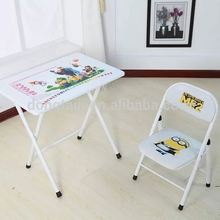 WD-18 ergonomic children chairs and folding desk for study/ cheap furniture table and chair