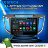 "10"" android tablet double din car dvd player for Hyundai IX35 Android 4.4.4"