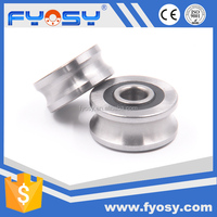 factory supply U groove V groove track roller guide wheel LFR series LV RV series bearing supplier