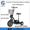 350w 500w Good quality adult tricycle electric 3 wheel scooter for old people
