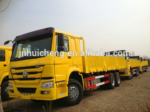 China Sinotruck HOWO 6X4 small Lorry Electric Cargo Truck Price