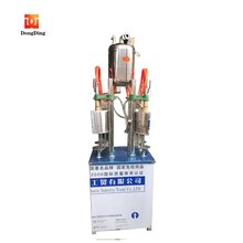 Automatic industrial carbonated beverage mixing and filling machine