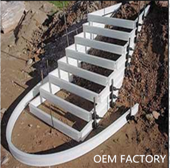 plastic staircase formwork