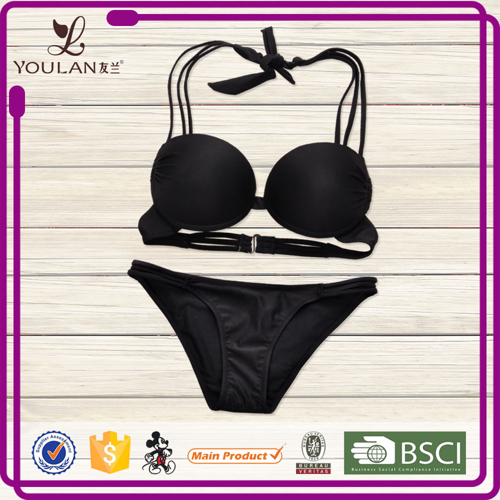Latest Design OEM Young Lady Breathable Sexy Kids Bikini