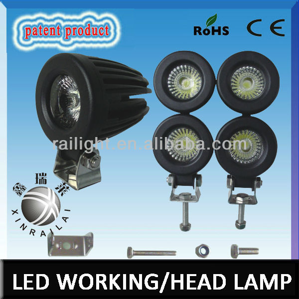 15w Epistar super bright IP68 weatherproof RGD1028 12v auto lamp used cars for sale in south korea