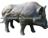 high-quality 3D pig archery target for outdoor shooting, boar shooting target for hunting training