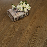 18mm Natural Aged European White Oak Wooden Engineered Hardwood Flooring Wood