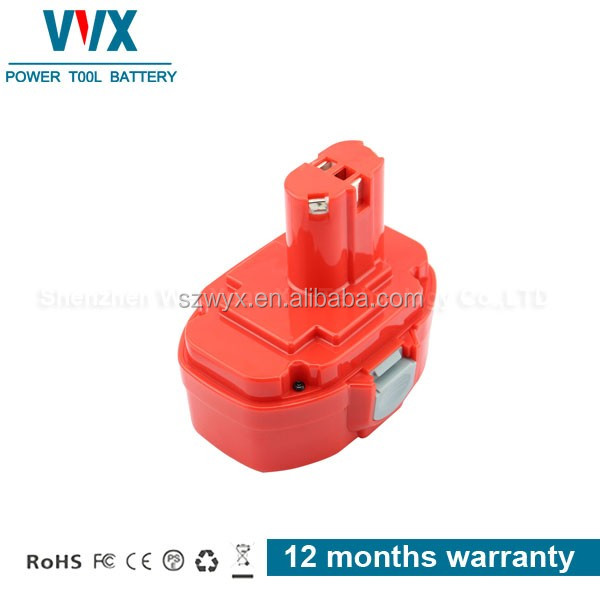 High quality 18V 2000mAh Ni-mh Power Tool Battery Rechargeable for Makita Replacement LS800DWB