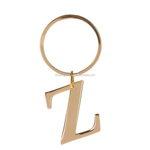 letter z keychain new products alphabet letters keychain metal key ring with metal alphabet