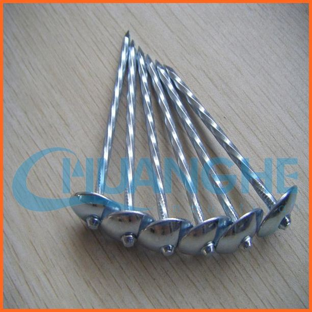 made in china corrugated roofing nail smooth shank