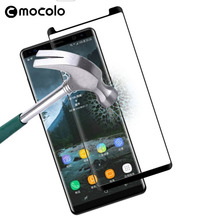 High quality 9H Full Cover 3D Curved screen protector tempered glass for samsung Galaxy Note 8