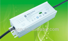 70W Aluminum shell IP67 constant current LED Power Supply used for led streetlight/floodlight/downlight/high bay