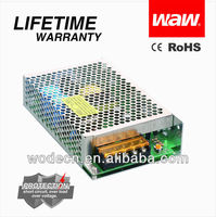 12V 6A 75W Power supply with CE ROHS approved