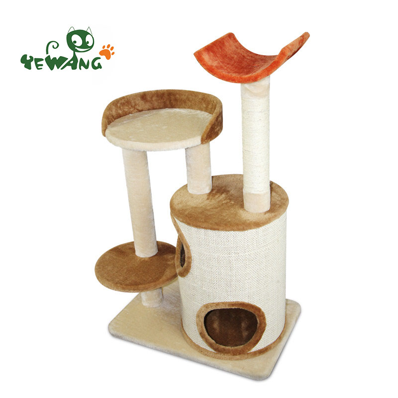 2016 Alibaba new designed modern luxury cat tree christmas toys