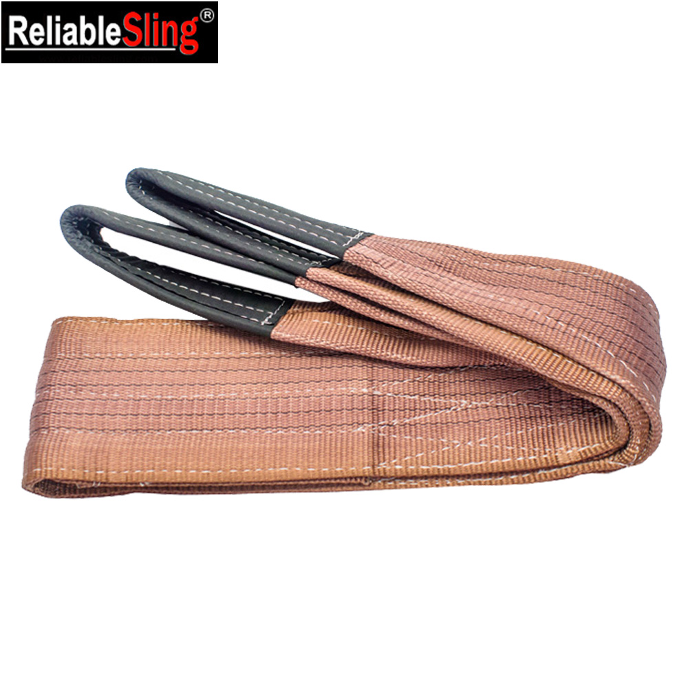 lifting tools flat endless Webbing Sling belt from china manufacturer